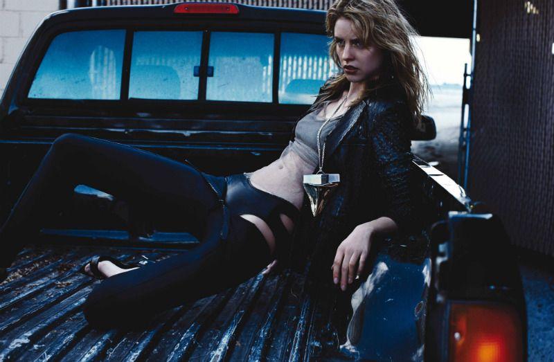 Julia Frauche for Exit Magazine  Photographer: Benny Horne  MUA: Chiho Omae