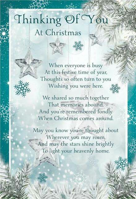 Christmas Thoughts.Thinking Of You Christmas Thoughts Memories Prayers
