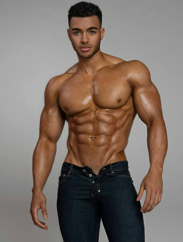 Black muscle boys