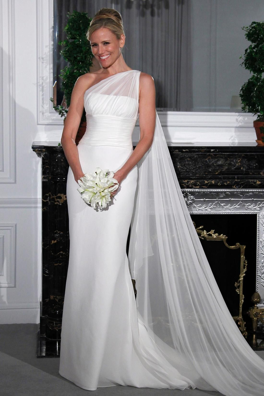 Bridal Gowns: Legends By Romona Keveza Sheath Wedding