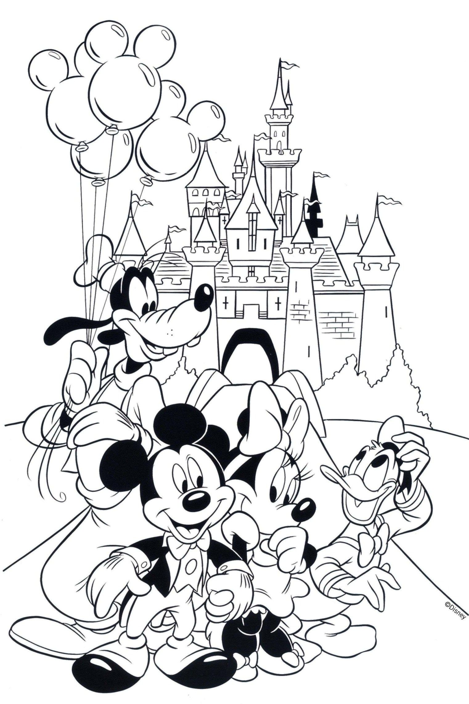 Free Printable Mickey Mouse Coloring Pages For Kids Mickey Coloring Pages Minnie Mouse Coloring Pages Baby Coloring Pages