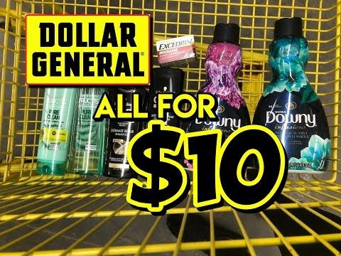 5 Off 25 Deals At Dollar General 10 50 For Everything 4 13 Youtube Get Gift Cards