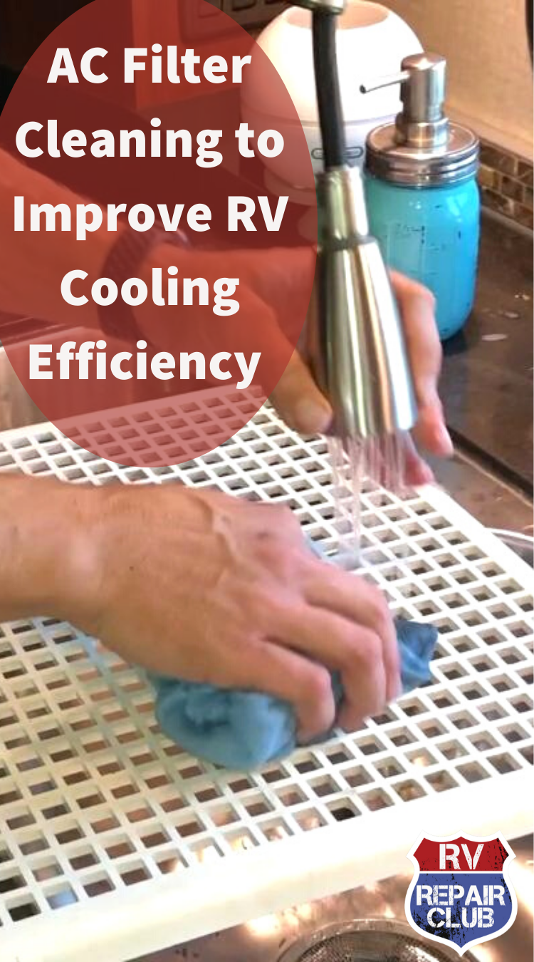 AC Filter Cleaning to Improve RV Cooling Efficiency
