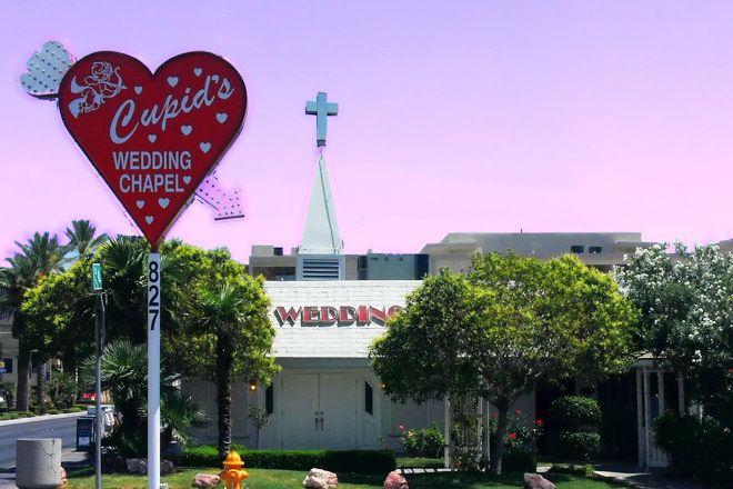 Cupids Wedding Chapel In Las Vegas NV Where We Got Married