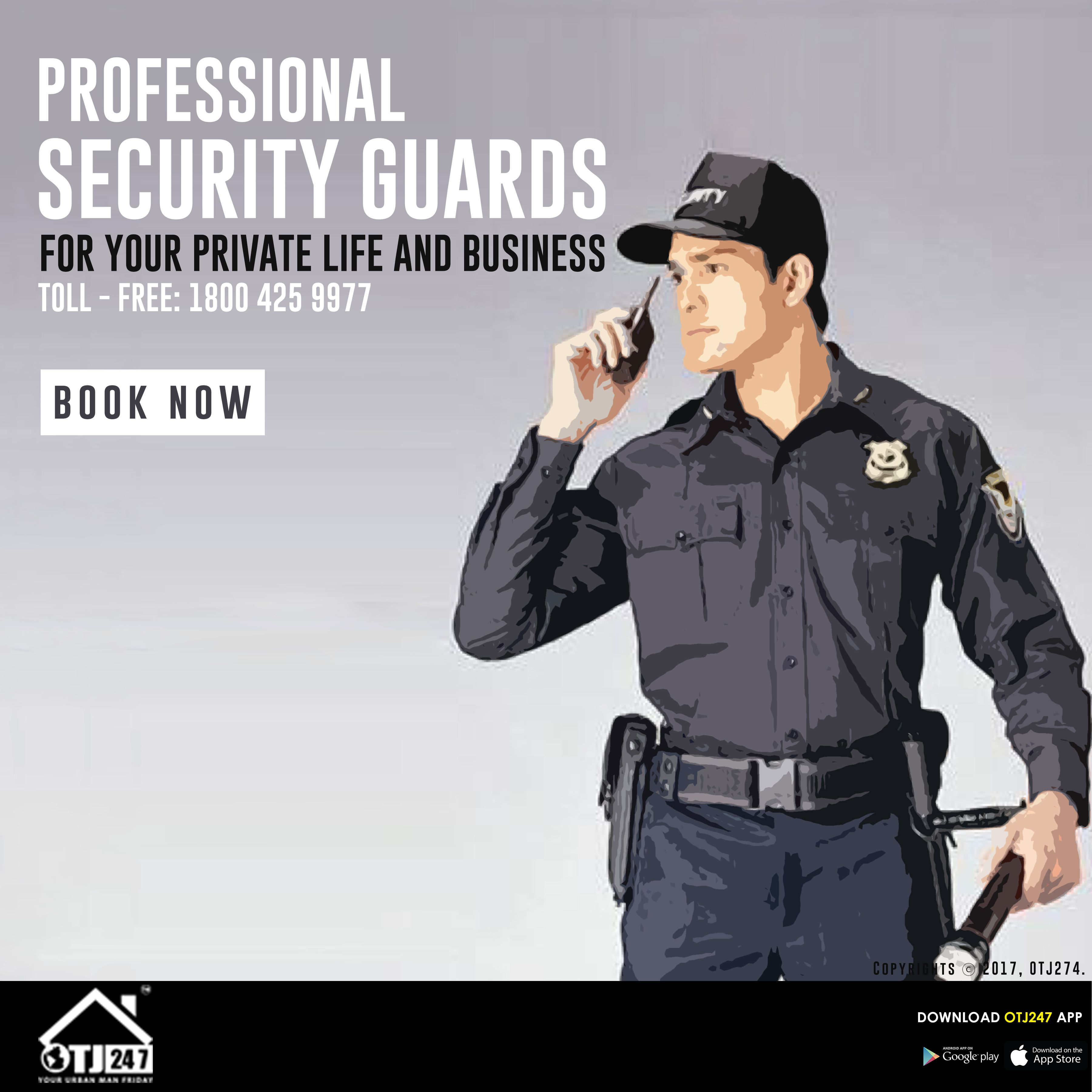 Professional Security Guards For Your Private Life And