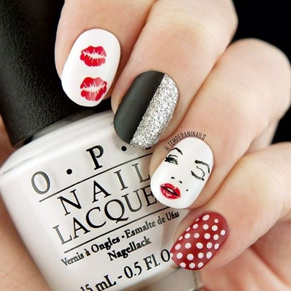 41 Romantic Valentines Week Nails Designs 2017 | Nails inspiration