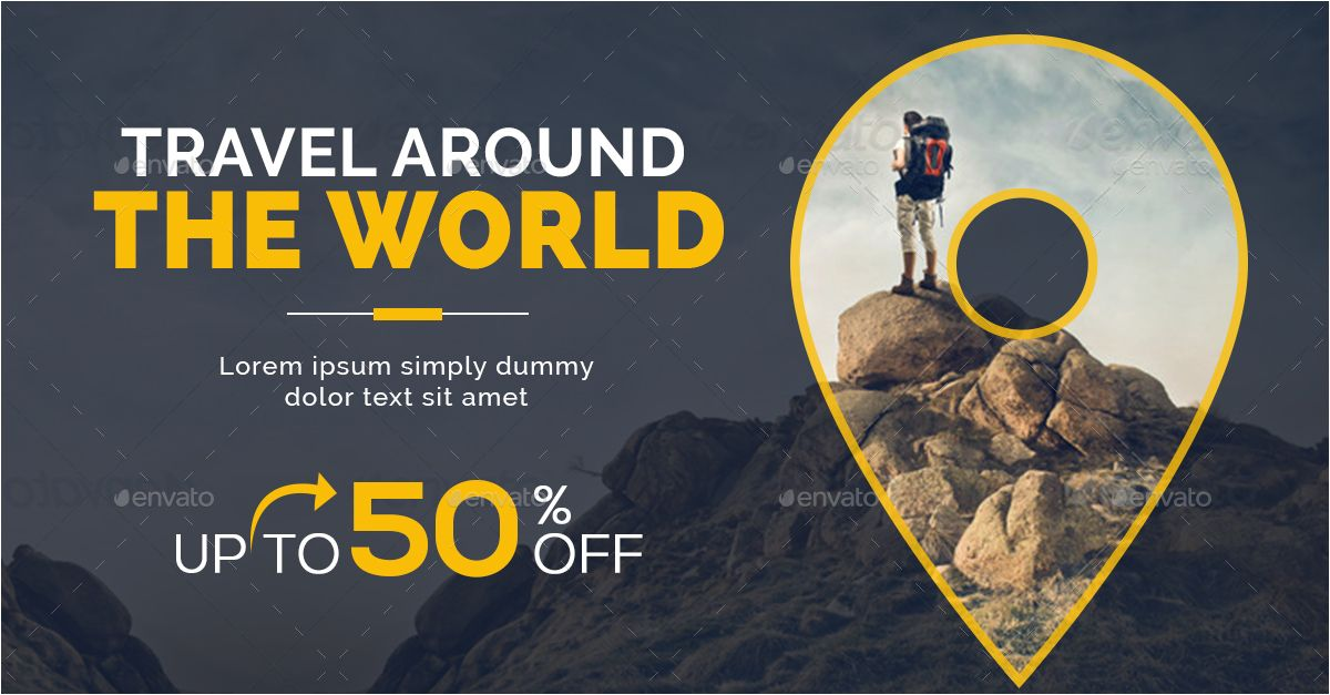Travel Banner Psd Free Download