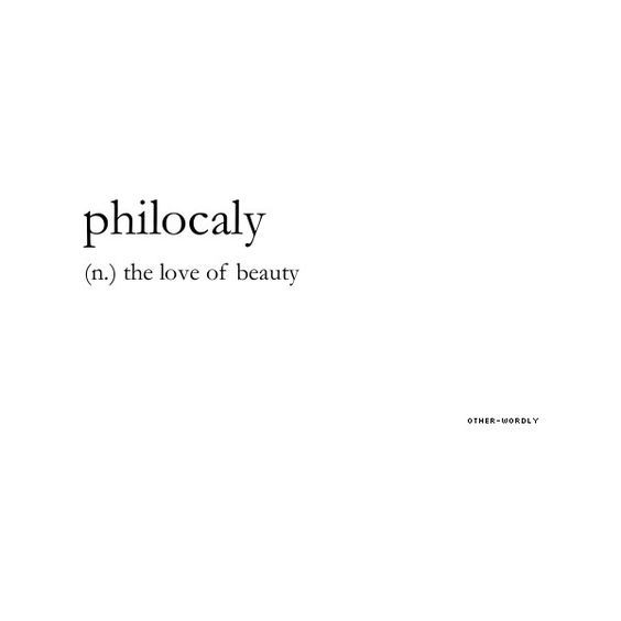 Philocaly Aesthetic Words Unusual Words Cool Words