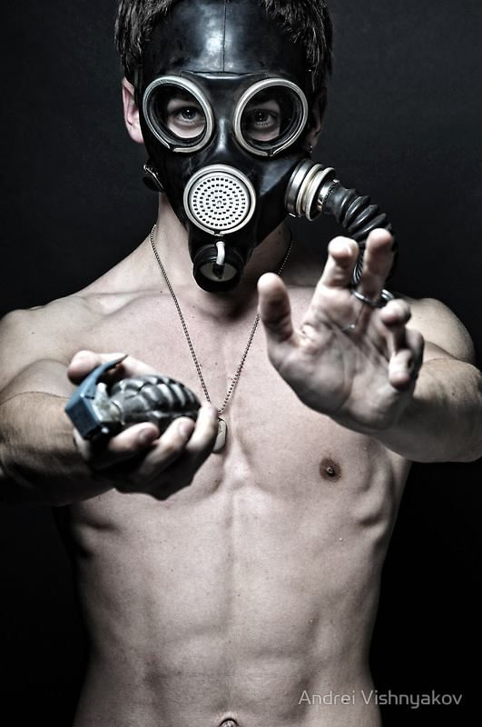 Gay gas mask