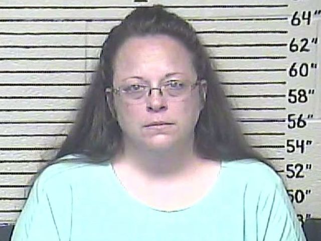 Ky. clerk's office will issue marriage licenses Friday — without the clerk... This is just the beginning of Christian Persecution in America.  It may not be long before we're required to sew yellow crosses on our shirts.
