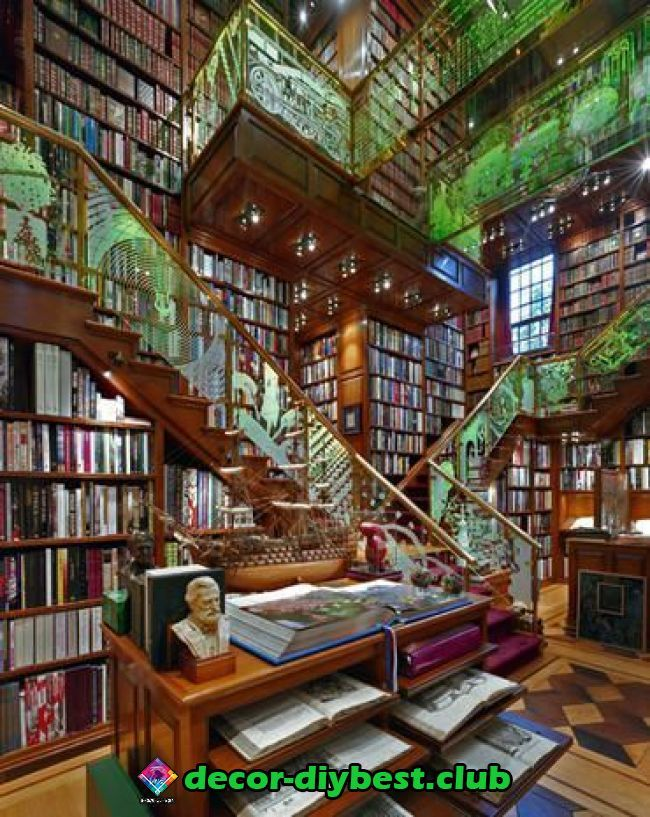 Diy Mobel Home Libraries Dream Library Private Library