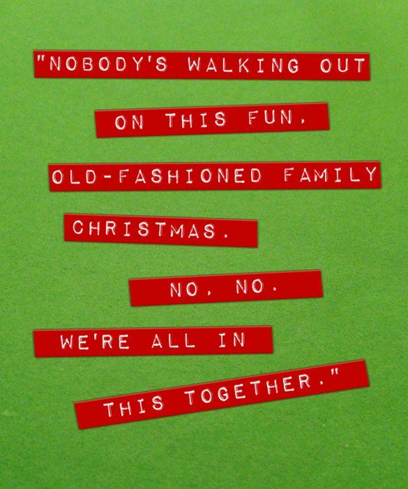 Etonnant We Are All In This Together Love Family Friends Christmas Movie Quotes  Christmas Quotes