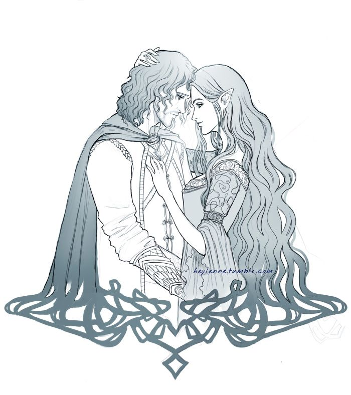 Arwen and Aragorn - Tattoo Comm by Heylenne on deviantART | The Lord ...