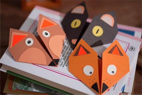 cr er des marques pages marque page origami. Black Bedroom Furniture Sets. Home Design Ideas