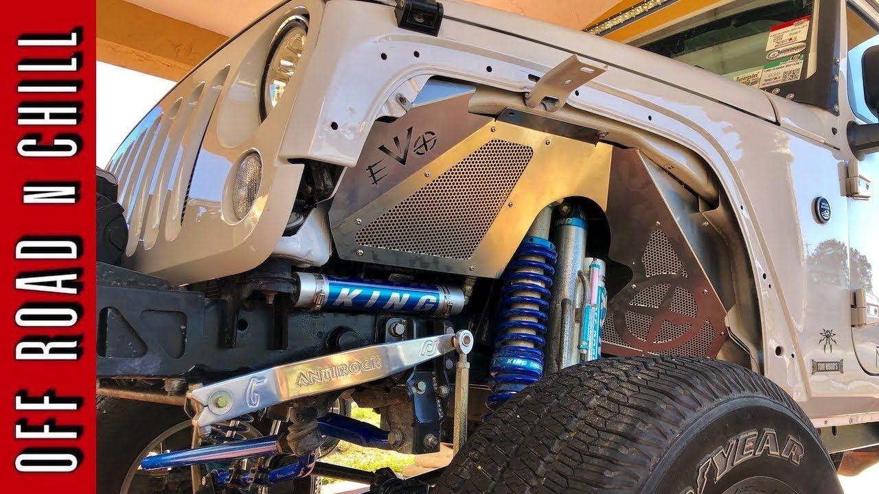 Evo Front Inner Fenders Installation Wrangler How To Install Evo
