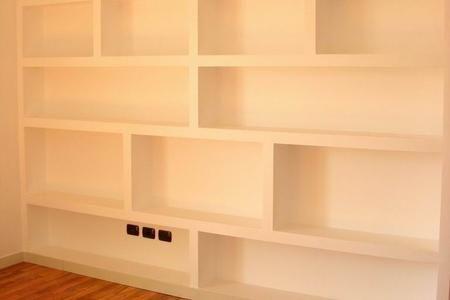 Riverniciare Mobili ~ Come verniciare una libreria in cartongesso cartongesso