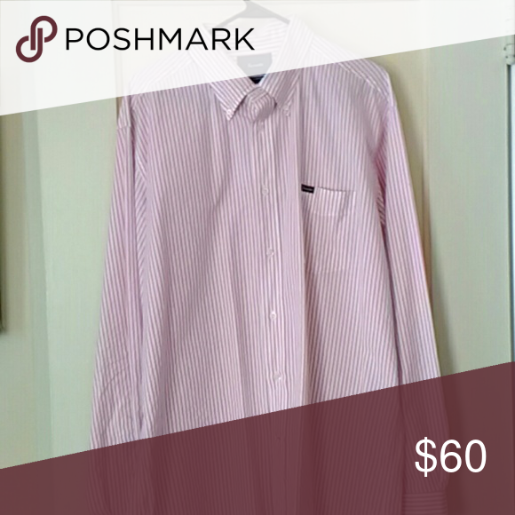 Men's shirt Classic fitting sportswear shirt tailored in a striped cotton with barrel cuffs faconnable Shirts Dress Shirts