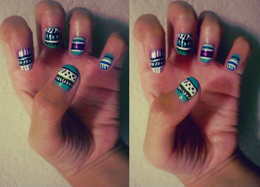 They look kinda messy, but I'm still happy with them!