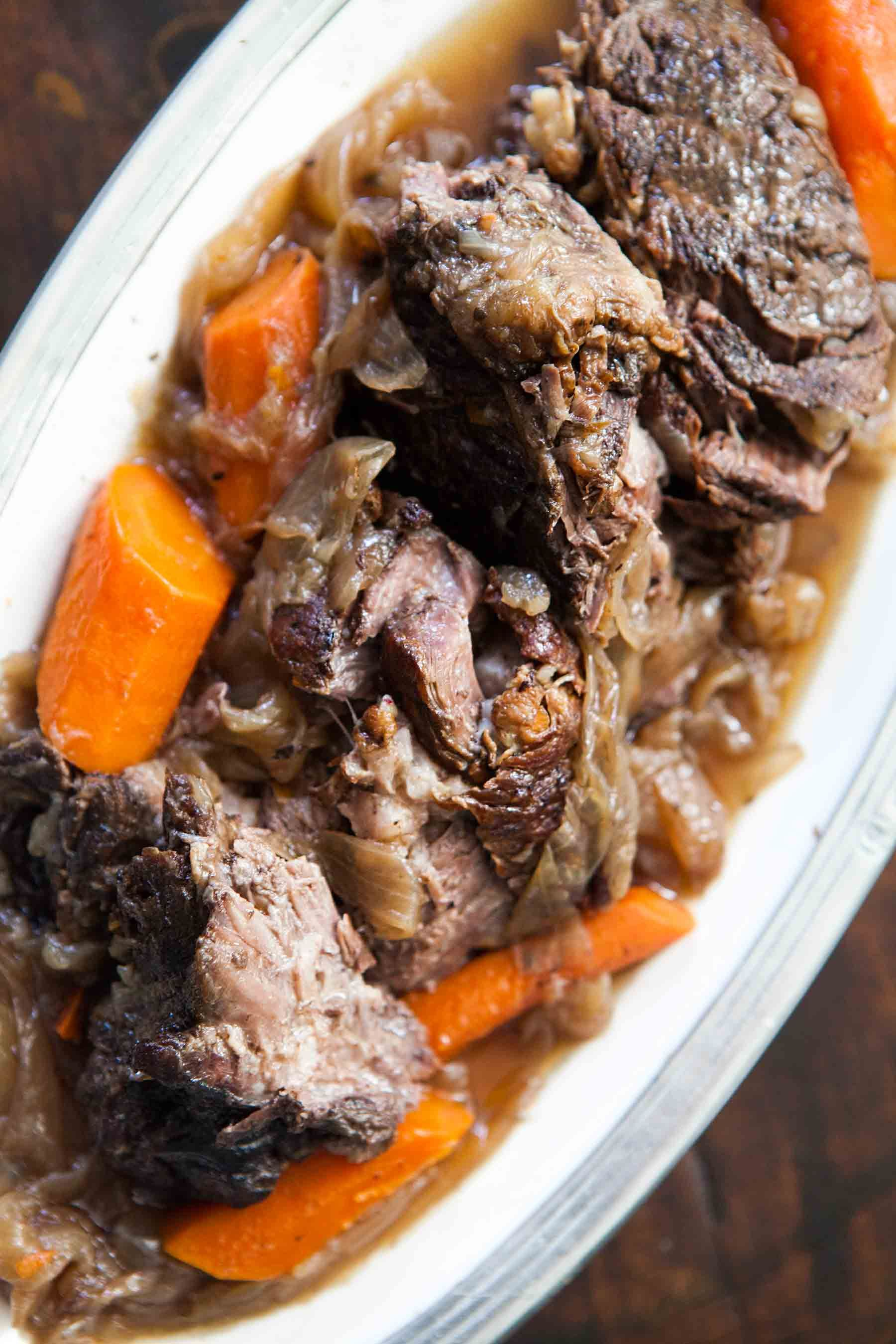 Best Beef Pot Roast Recipe Slow Cooked On Stove Top Or In Oven With