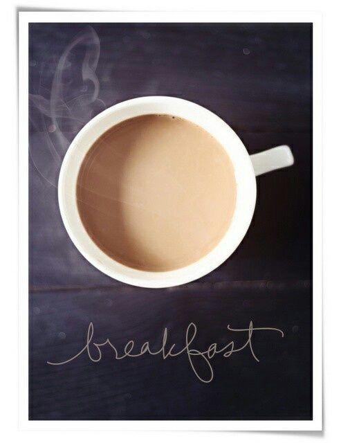 coffee breakfast