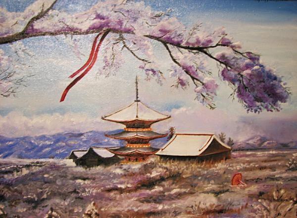 Japanese Landscape Paintings
