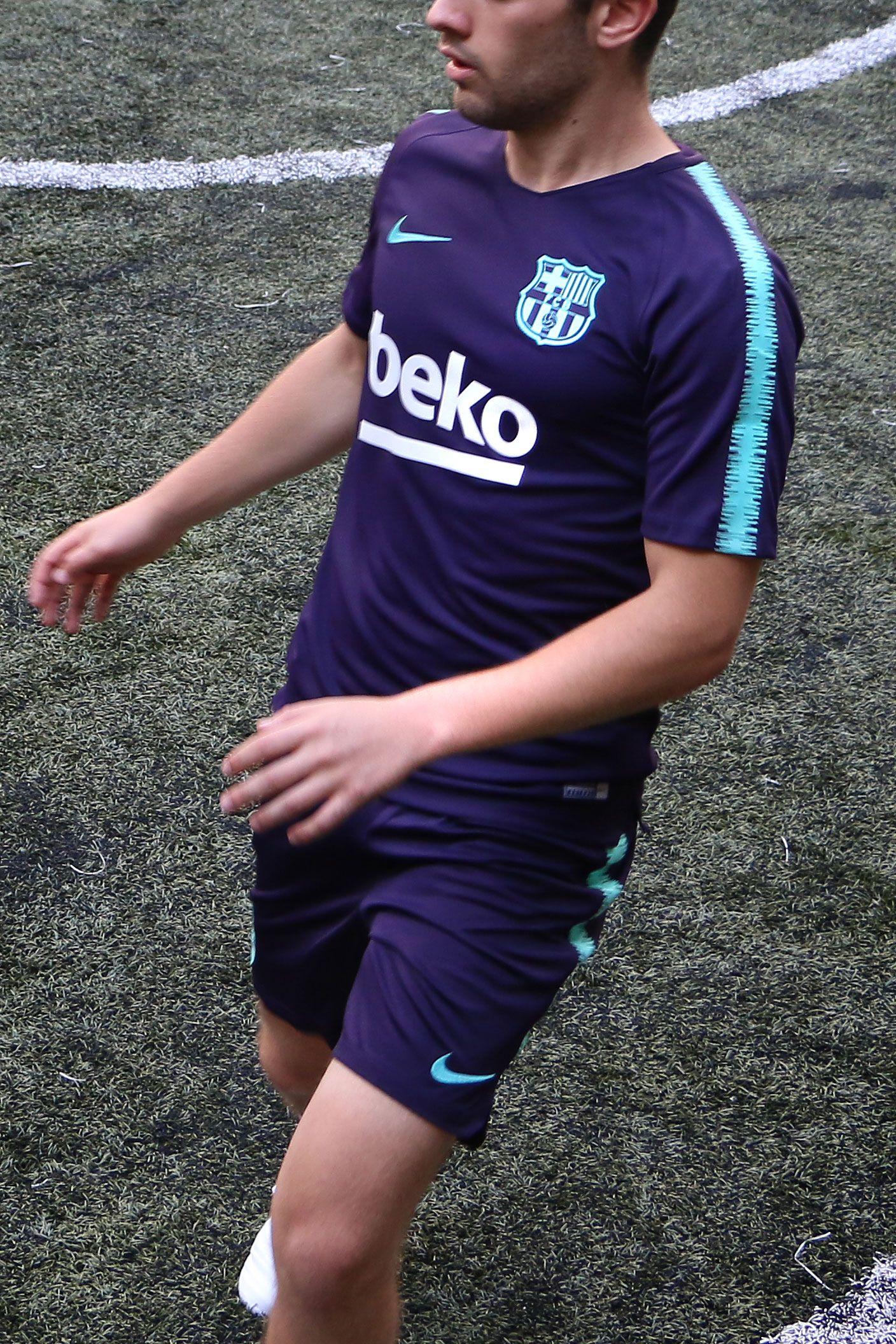 Camiseta de entrenamiento del FC Barcelona 2018 - 2019 - morada   azul 55657e20ef6