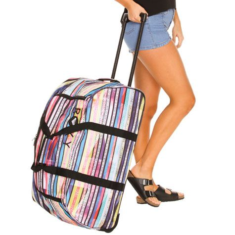 51e52458c7 Roxy Distance Apart Wheeled Travel Bag from City Beach Australia ...