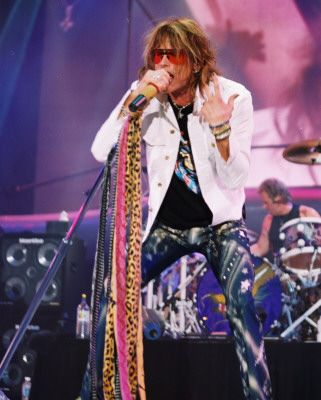 Aerosmith Yes one of my favorite groups. 8:00 tonight I will be their
