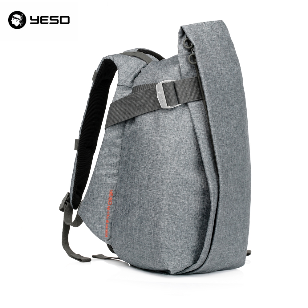 46.75$  Watch more here - http://aibph.worlditems.win/all/product.php?id=32614180128 - YESO Stylish Vintage Nylon Mens Fashion Laptop Backpack Famous Design Casual Travel Unisex Double Shoulder Bag Backpacking Bags