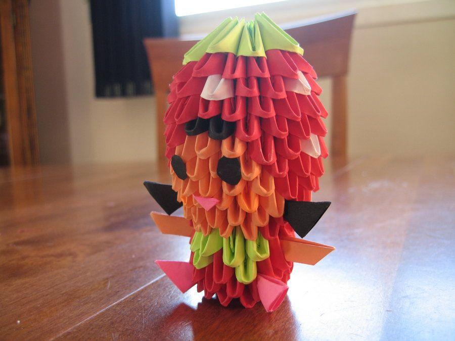 Origami Strawberry Costume By OrigamiGenius On DeviantArt
