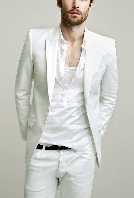 15 White Summer Party Outfits For Men Mens Style Fashion Mens
