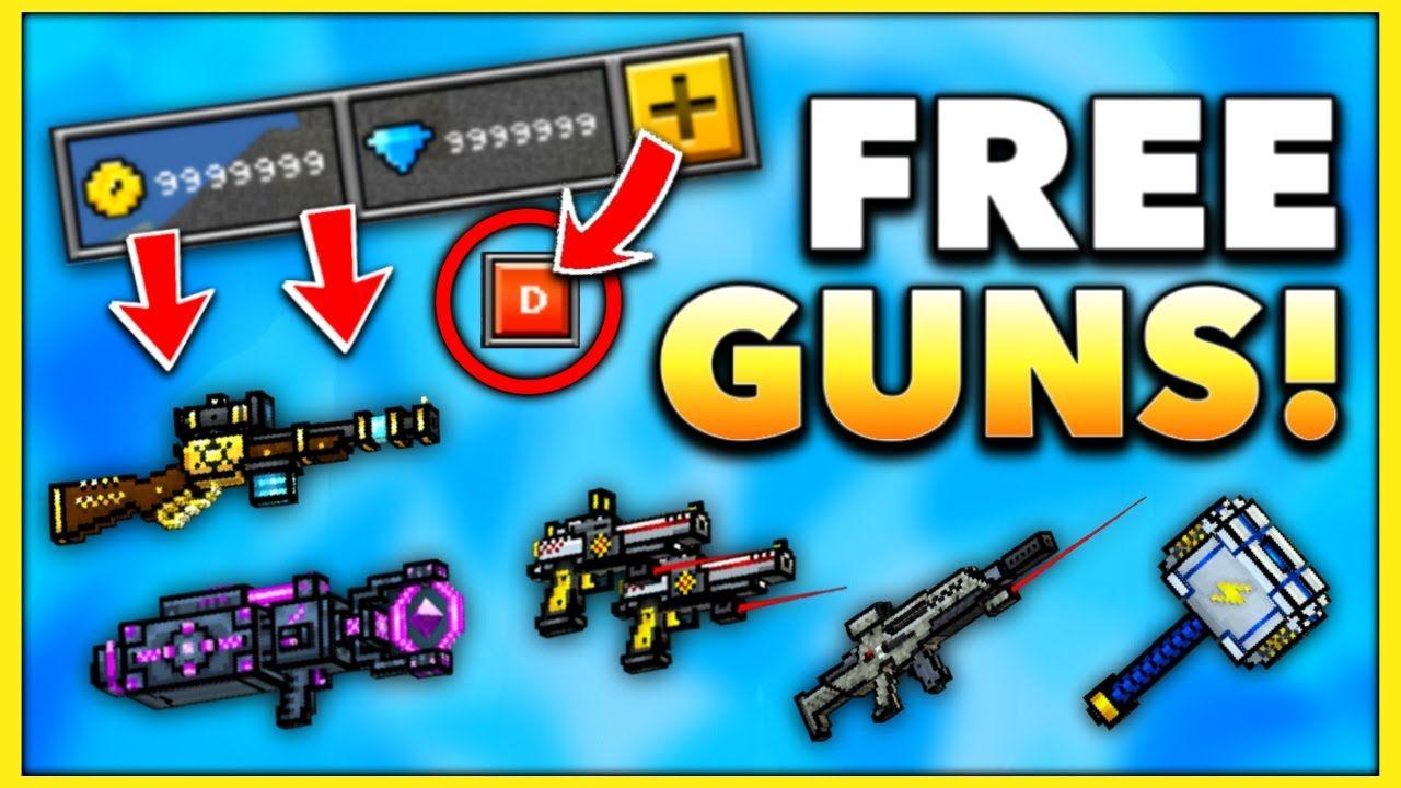 free pixel gun 3d coins