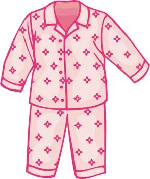 Free Vector Childs Pajamas Graphic Available For Free Download At 4vector Com Check Out Our Collection Of More Than 180k Fr Baby Doll Pattern Clip Art Pajamas
