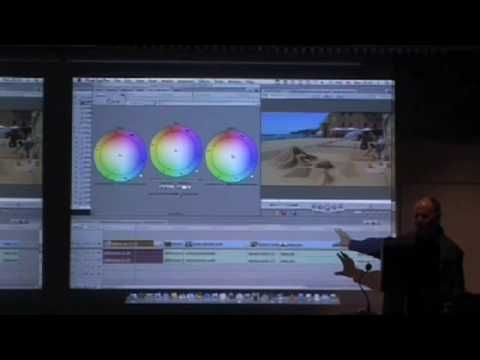 Final Cut Pro Colour Grading Seminar by Peter Cave (Part 7 of 9) - YouTube