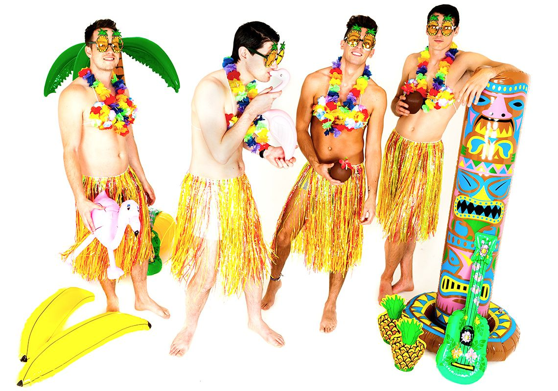 Aloha, lads! Shake your booty in a hula skirt and embrace your inner Hawaiian goddess   Last Night of Freedom