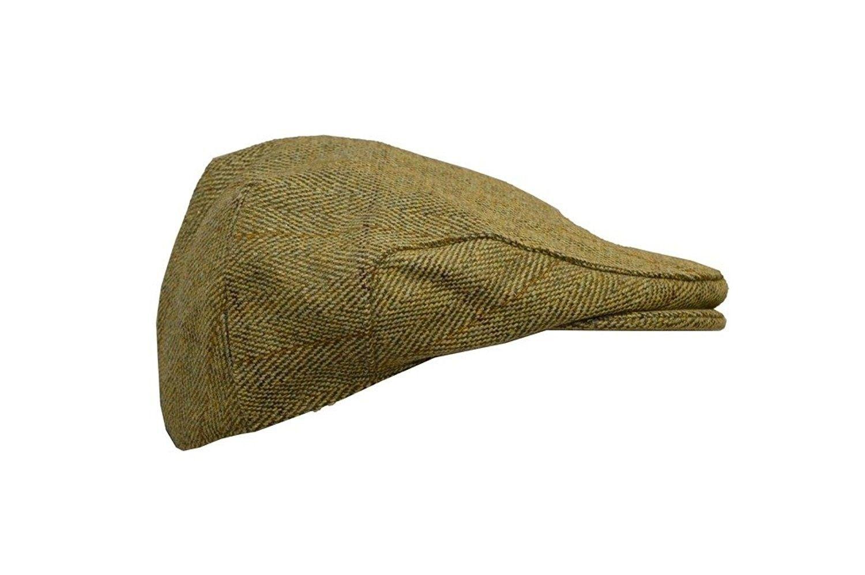 8171ec384af Men s Ladies Derby Tweed Flat Cap Hunting Shooting Countrywear Hat ...