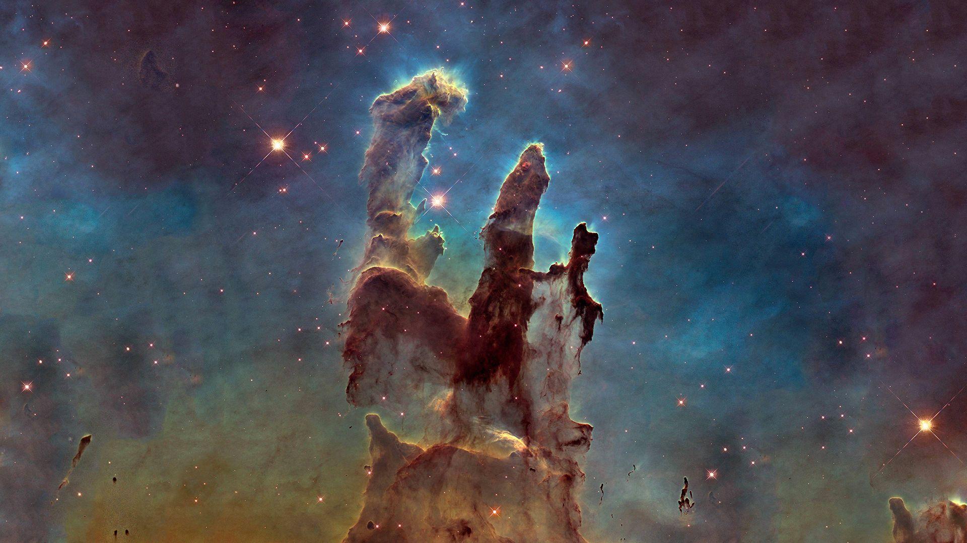 Nebula Pillars Of Creation (1920*1080) wallpapers