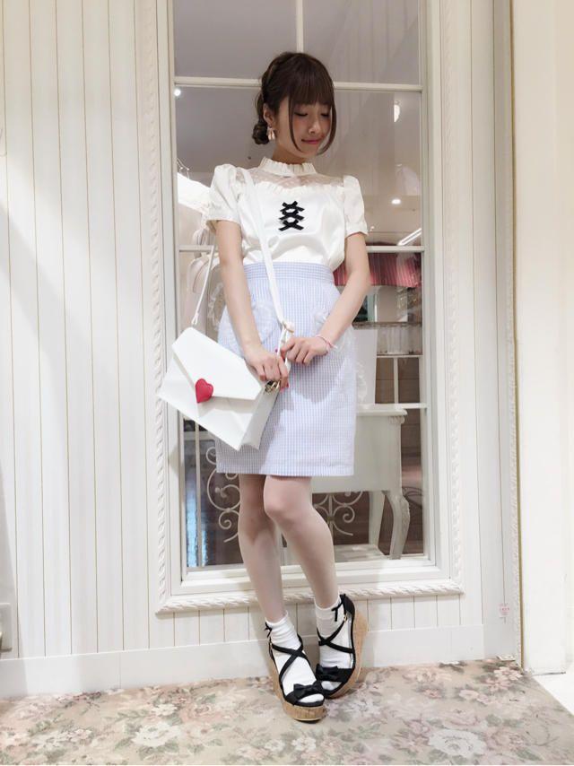 yuzuki☆タイトスカートで可愛いガーリーCode♪. かわいいファッション