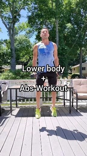 Lower Body and Abs Workout
