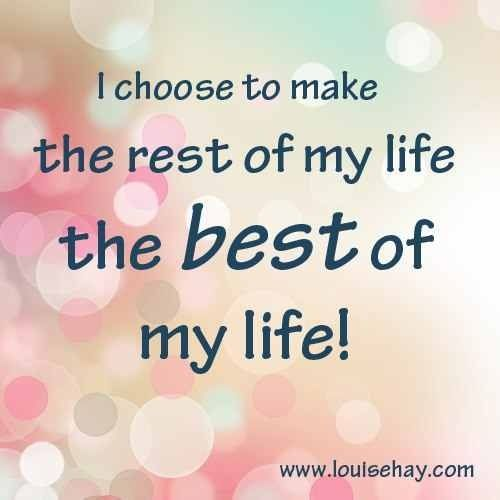 I choose..