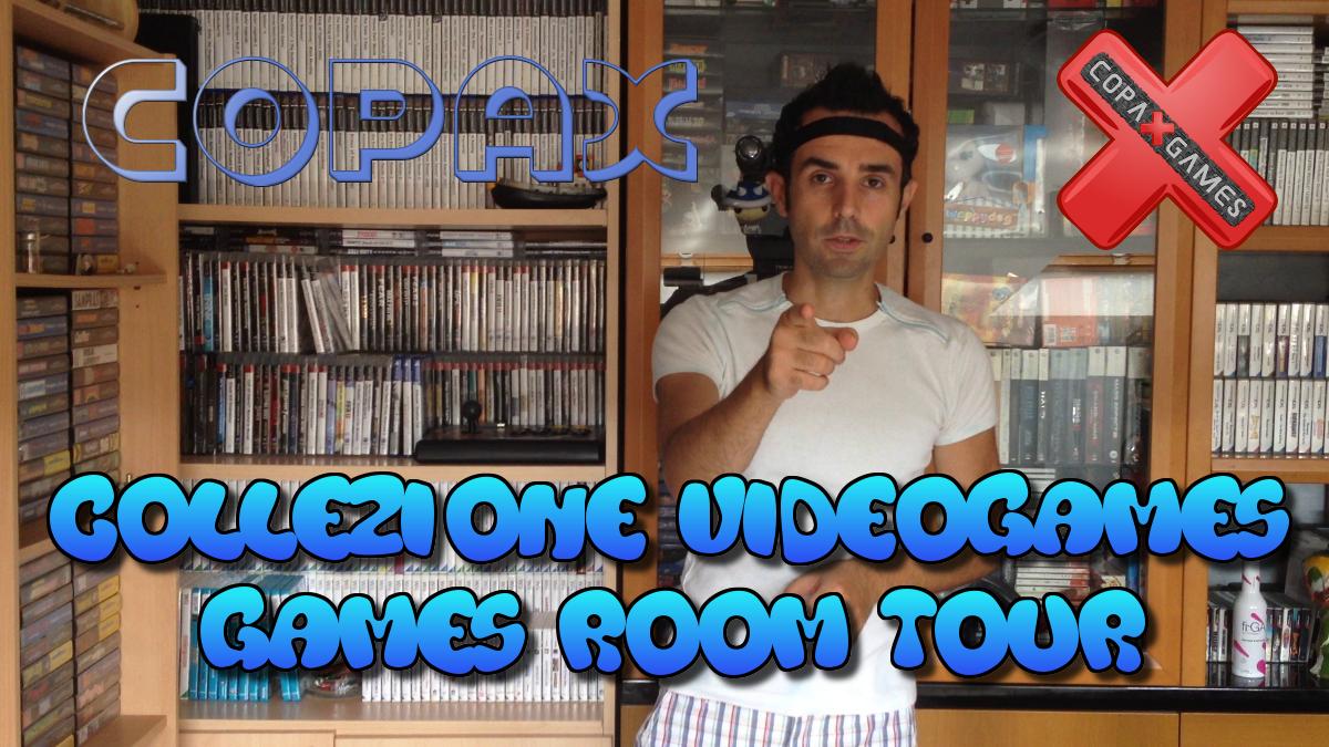 Collezione Videogames: Games Room Tour