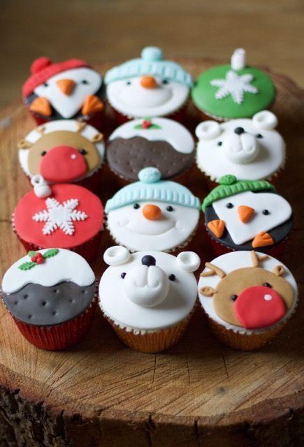 Image Result For Christmas Cupcake Ideas Uk Christmas Baking