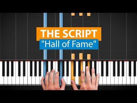 Hall of fame piano-the Script | My Music (Trombone + Piano