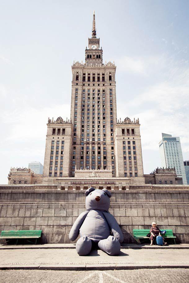 ours géant...