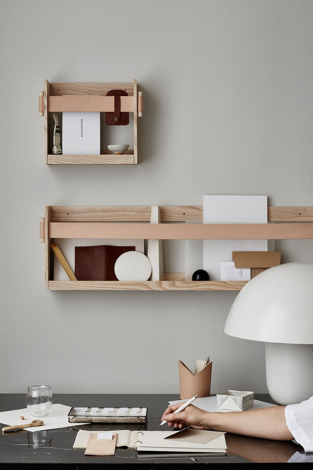 New Housewares Brand In Sweden Called Smalands Skinnmanufaktur Brings Environmental Consciousness To Their Products With Images Home Office Design Home Office Furniture Interior
