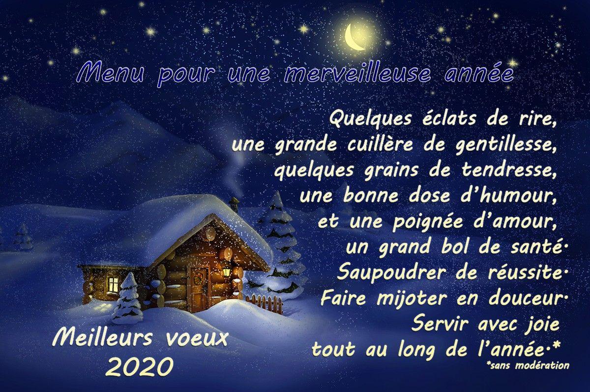 jolie carte voeux 2020 Épinglé par Ghislaine Ley sur Décoration automne en 2020 | Menu