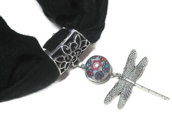 Interchangeable dragonfly scarf pendant scarf jewelry slide interchangeable dragonfly scarf pendant scarf jewelry slide scarf necklace dragonfly jewelry snap button jewelry aloadofball Gallery