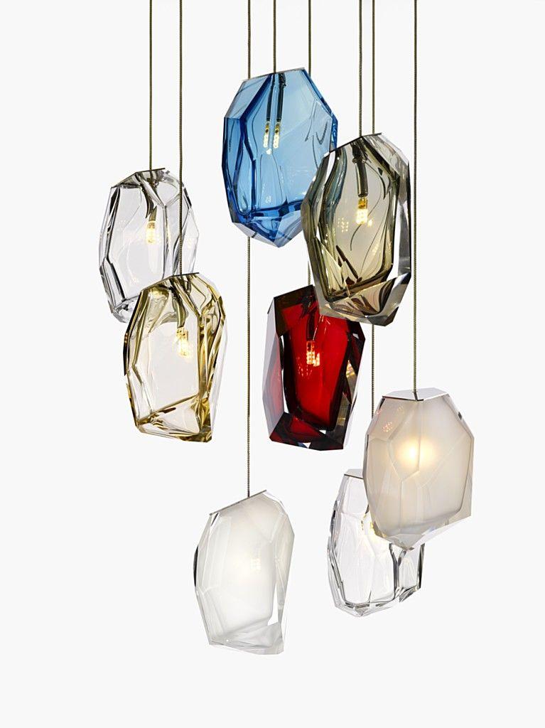 famous lighting designer. Want It Crystal Rock By Levy Arik Lasvit Lighting Famous Designer A