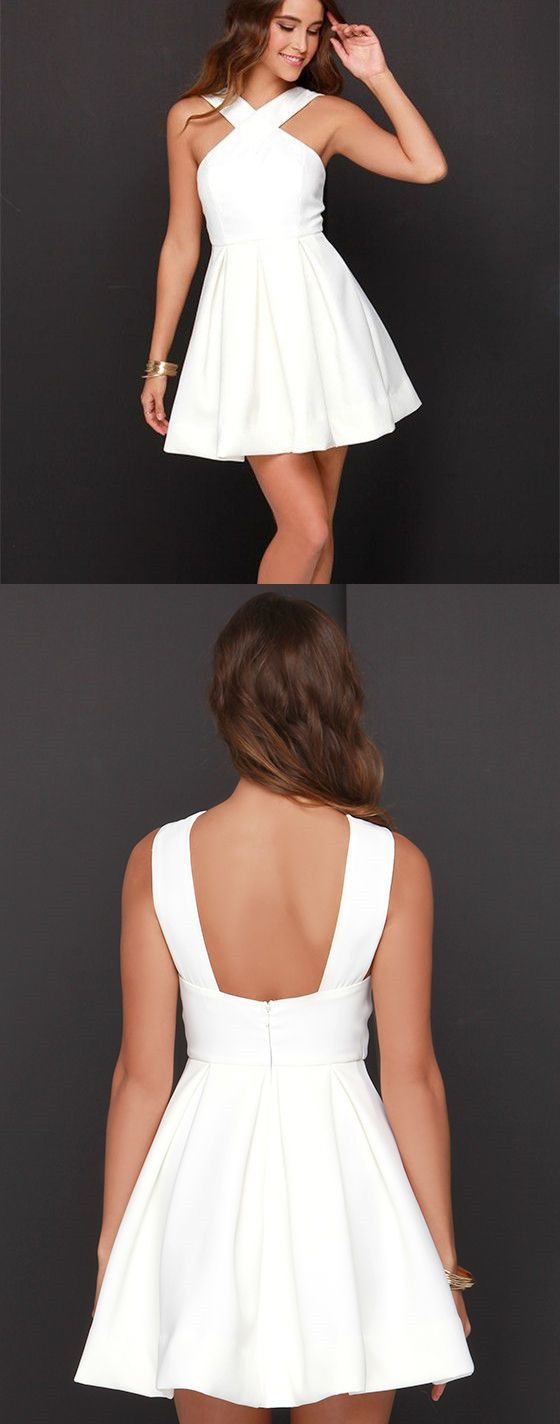 white homecoming dress short white homecoming dress party