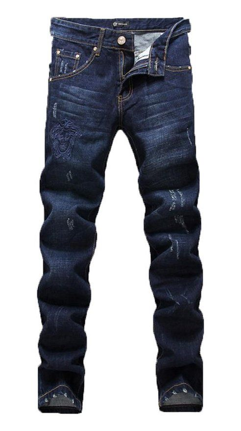 Slim Fit Striaght Leg Skinny Denim Jeans